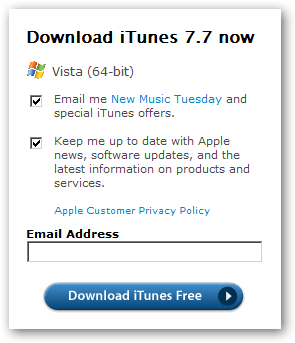 Itunes 107 for windows download