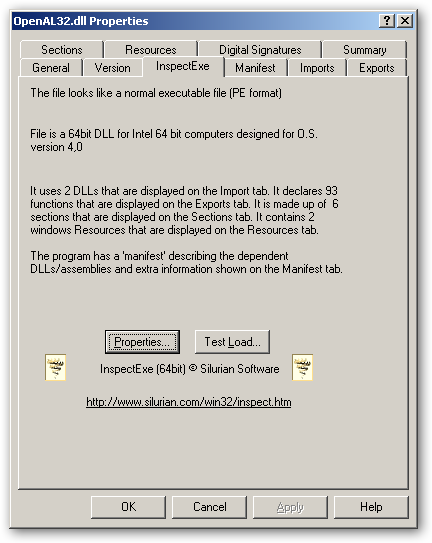 OpenAL for Windows 64-bit version