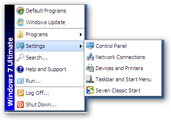 Classic Start menu for Microsoft Windows 7 under 64bit