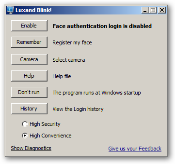 Luxand Blink! 64bit version