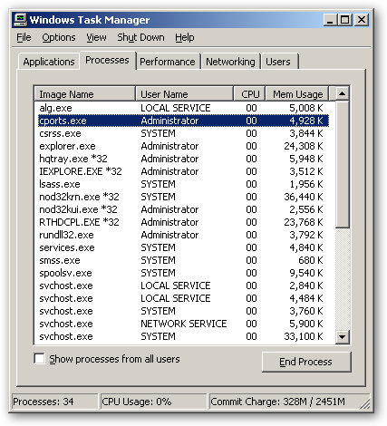 CurrPorts x64 version