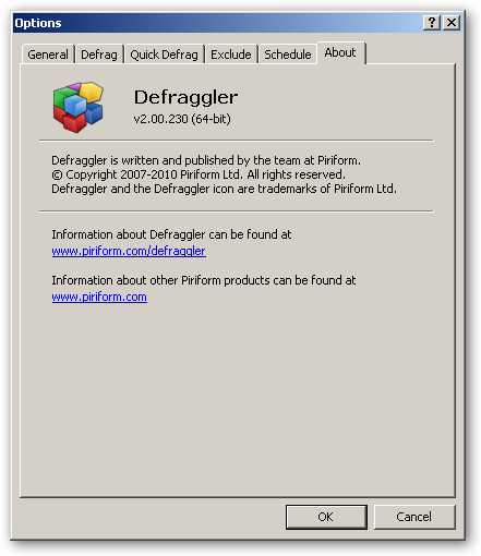 Defraggler 64bit version