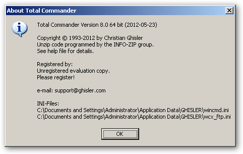 Total Commander 64bit version