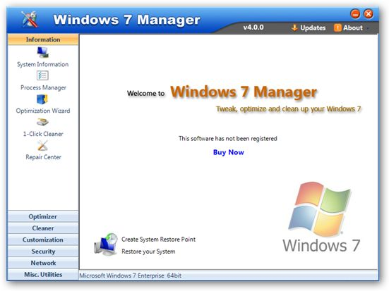 برنامج Windows Manager 1.0.3 Beta