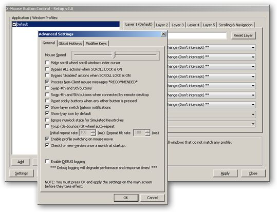 X-Mouse Button Control 64bit version