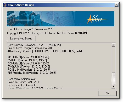 Alibre Design 64bit version