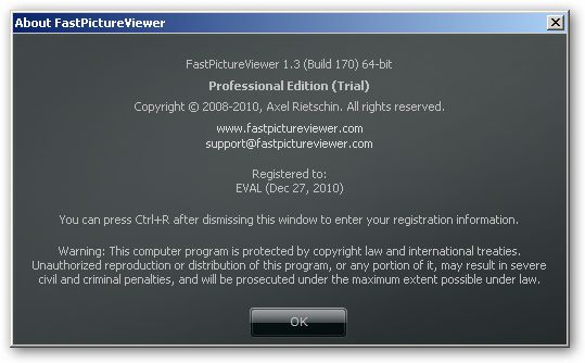 FastPictureViewer 64bit version