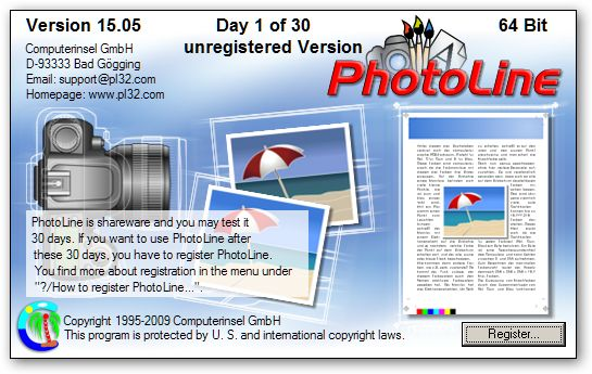 PhotoLine 64bit version