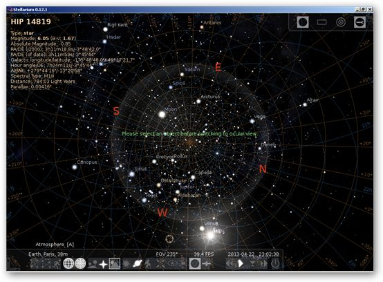 Stellarium 64bit version