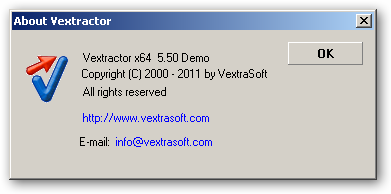 Vextractor 64bit version