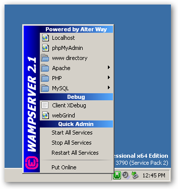 WampServer 64bit version