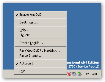 SlySoft AnyDVD HD under 64bit