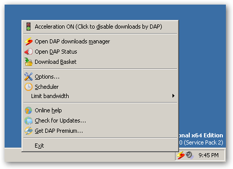 Download Accelerator Plus - 64-bit Internet Explorer plug-in