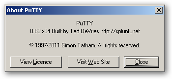 PuTTY 64bit version