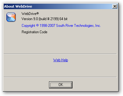 WebDrive 64bit version