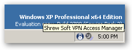 Shrew Soft VPN Client for Windows 64bit version