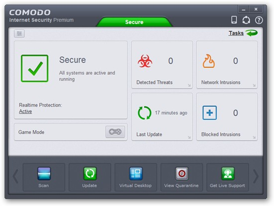 COMODO Internet Security 64-bit version