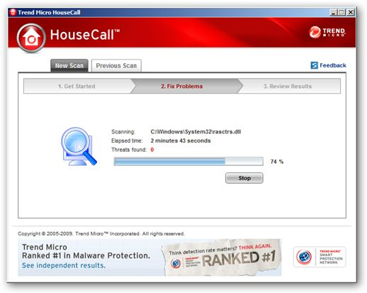 HouseCall 64bit version