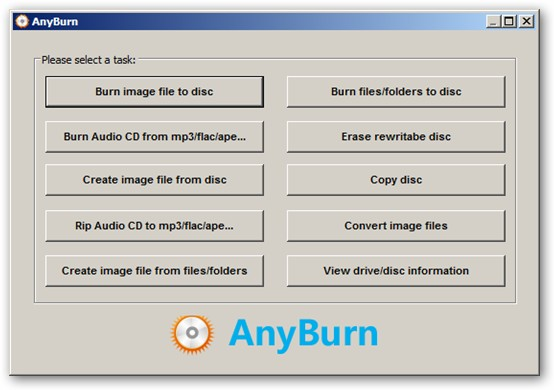 AnyBurn 64-bit version