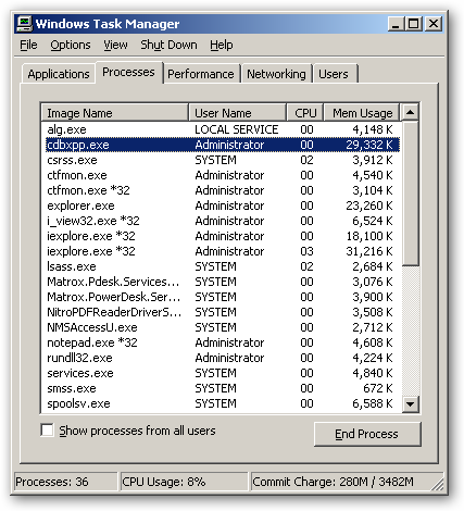 CDBurnerXP 64bit version