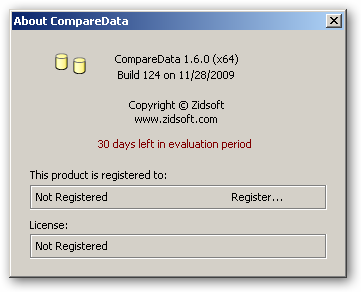 CompareData 64bit version