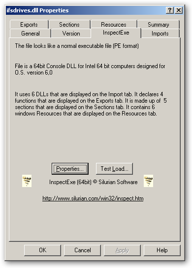 Ext2 Installable File System For Windows  - 64bit version