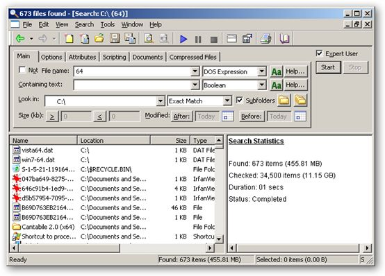 FileLocator Pro 64bit version