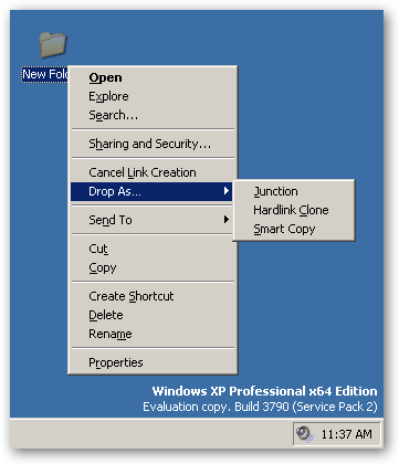 Link Shell Extension 64bit version