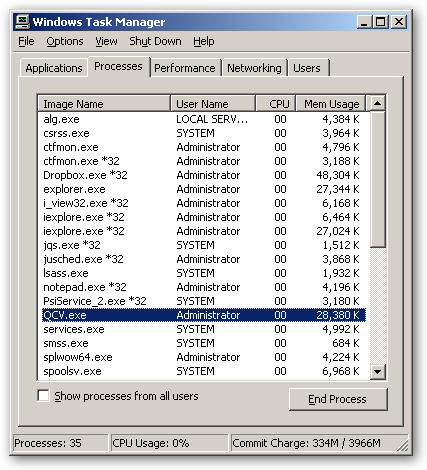 Quick Checksum Verifier 64bit version