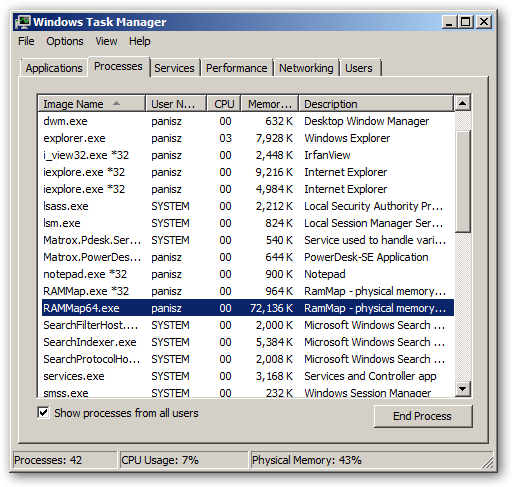 RAMMap 64bit version