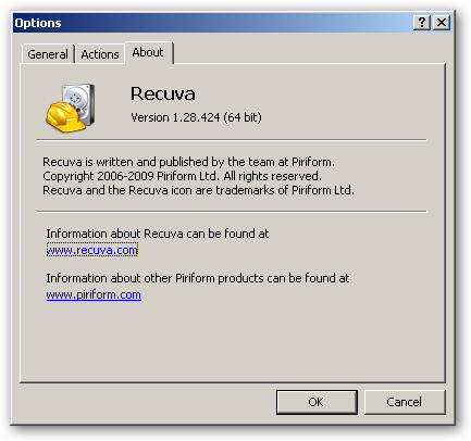 Recuva 64bit version