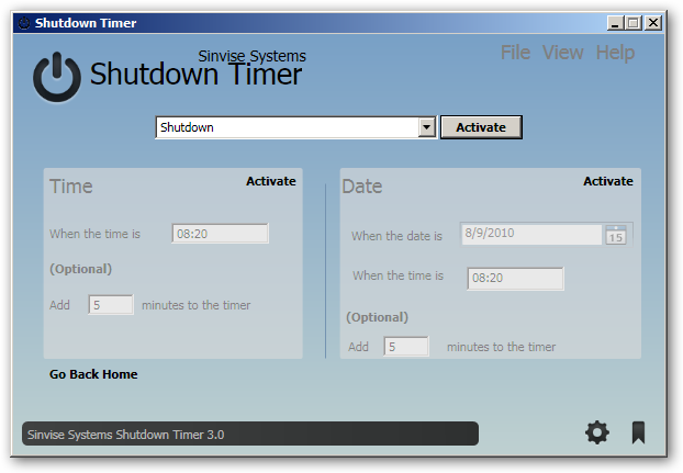 Shutdown Timer 64bit version
