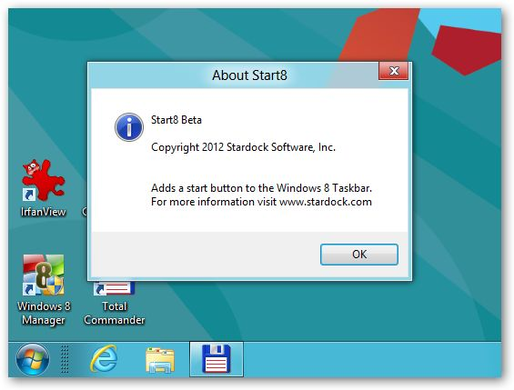 Start8 - Windows 8 Start Menu - 64bit support
