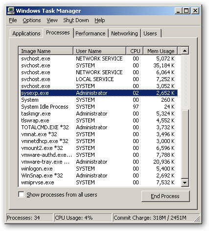 SysExporter for x64