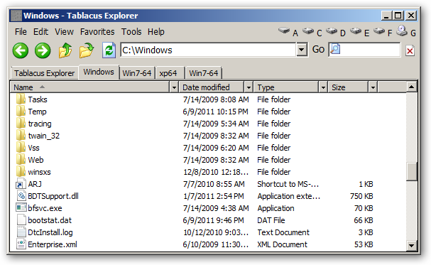 Tablacus Explorer 64bit version