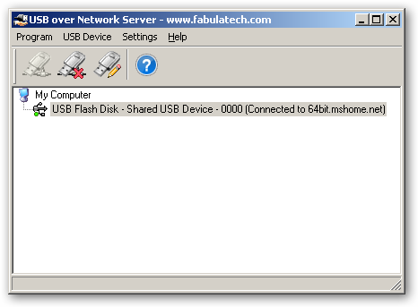 USB over Network - USB over IP - Shared USB - under x64