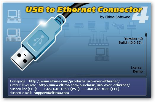 USB to Ethernet Connector under 64bit