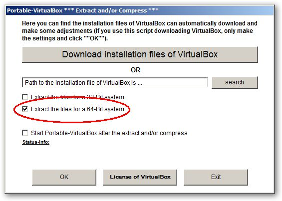 Portable-VirtualBox 64bit version