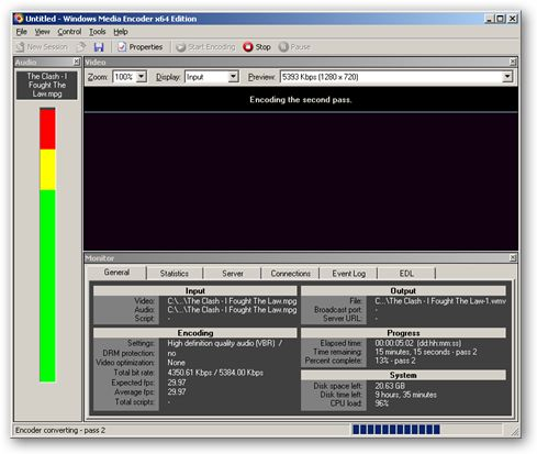 windows media encoder 9 series x64 edition free download