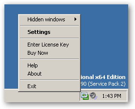 WindowSpace 64bit version