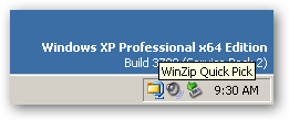 WinZip 64bit version