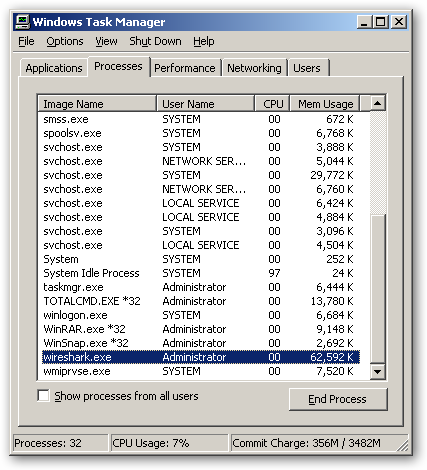 Wireshark 64bit version