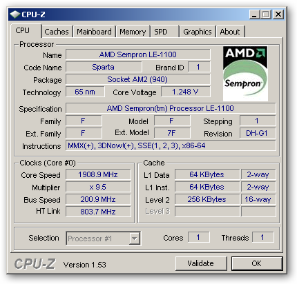 CPU-Z 64bit version