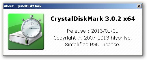 CrystalDiskMark 64bit version