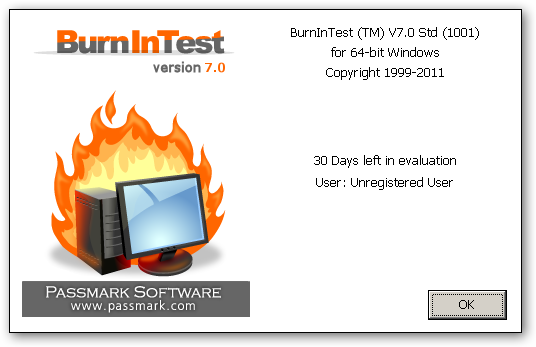 BurnInTest 64bit version