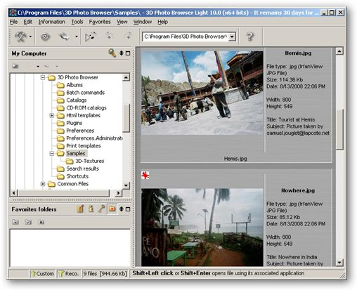 3D Photo Browser Light - x64 version