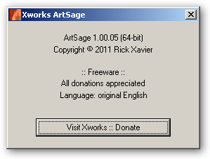 ArtSage 64bit version