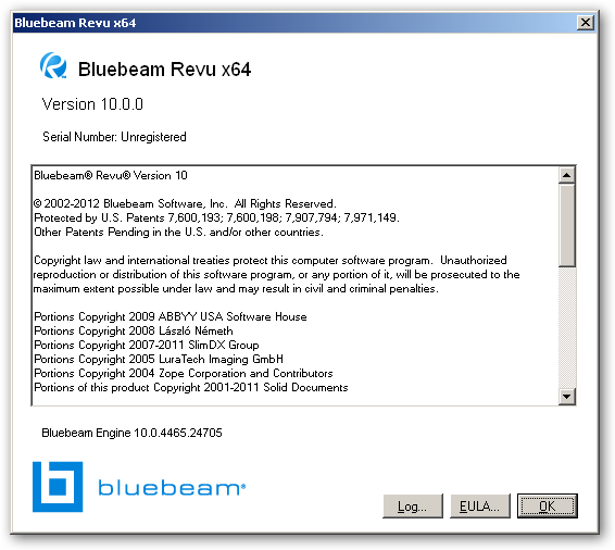 Bluebeam PDF Revu 64bit version