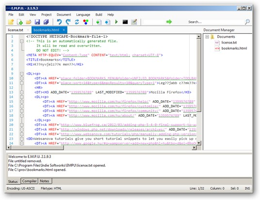 Enhanced Multilingual Programming Utility 64-bit version