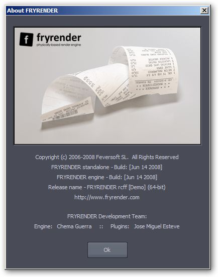 fryrender 64bit version